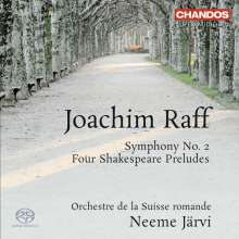 Joachim Raff (1822-1882): Symphonie Nr.2, Super Audio CD