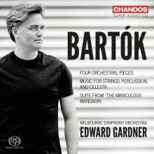 Bela Bartok (1881-1945): 4 Orchesterstücke op.12, Super Audio CD