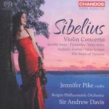 Jean Sibelius (1865-1957): Violinkonzert op.47, Super Audio CD