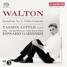 William Walton (1902-1983): Symphonie Nr.1, SACD