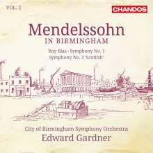 Felix Mendelssohn Bartholdy (1809-1847): Mendelssohn in in Birmingham Vol.2, SACD