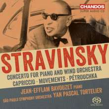 Igor Strawinsky (1882-1971): Werke für Klavier & Orchester, SACD