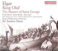 Edward Elgar (1857-1934): Scenes from the Saga of King Olaf (Kantate), 2 SACDs