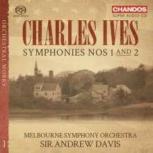 Charles Ives (1874-1954): Symphonien Nr. 1 & 2, SACD