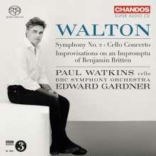 William Walton (1902-1983): Symphonie Nr.2, Super Audio CD
