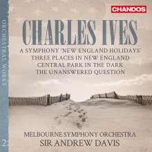 Charles Ives (1874-1954): Orchesterwerke, SACD