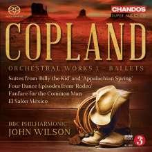 Aaron Copland (1900-1990): Orchesterwerke Vol.1 - Ballette, Super Audio CD