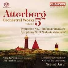Kurt Atterberg (1887-1974): Orchesterwerke Vol.5, Super Audio CD