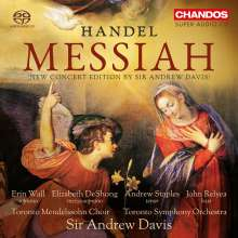Georg Friedrich Händel (1685-1759): Der Messias, 2 Super Audio CDs