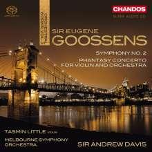 Eugene Goossens (1893-1962): Symphonie Nr.2, Super Audio CD