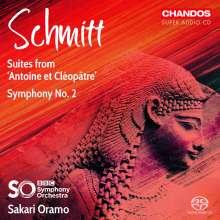 Florent Schmitt (1870-1958): Symphonie Nr.2 op.137, Super Audio CD