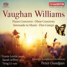 Ralph Vaughan Williams (1872-1958): Klavierkonzert C-Dur, SACD