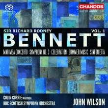 Richard Rodney Bennett (1936-2012): Orchesterwerke Vol.1, Super Audio CD