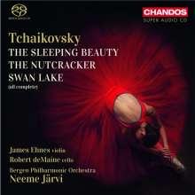 Peter Iljitsch Tschaikowsky (1840-1893): Die 3 Ballette, 5 SACDs