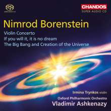 Nimrod Borenstein (geb. 1969): Violinkonzert op.60, SACD