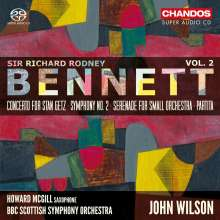 Richard Rodney Bennett (1936-2012): Orchesterwerke Vol.2, SACD