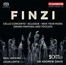 Gerald Finzi (1901-1956): Cellokonzert op.40, SACD