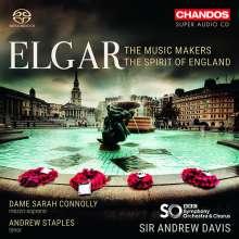 Edward Elgar (1857-1934): The Music Makers op.69 für Alt,Chor & Orchester, Super Audio CD