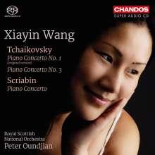Peter Iljitsch Tschaikowsky (1840-1893): Klavierkonzerte Nr.1 & 3, Super Audio CD