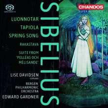 Jean Sibelius (1865-1957): Pelleas & Melisande - Suite op.46, Super Audio CD