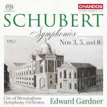 Franz Schubert (1797-1828): Symphonien Vol.1, SACD