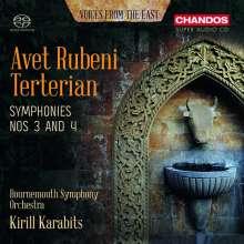 Avet Terterian (1929-1994): Symphonien Nr.3 & 4, SACD