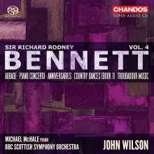 Richard Rodney Bennett (1936-2012): Orchesterwerke Vol.4, Super Audio CD