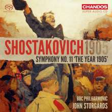 """Dmitri Schostakowitsch (1906-1975): Symphonie Nr.11 """"1905"""", Super Audio CD"""