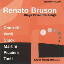 Renato Bruson singt Lieder, CD