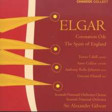 Edward Elgar (1857-1934): The Spirit of England op.80, CD