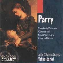 Hubert Parry (1848-1918): Orchesterstücke, CD
