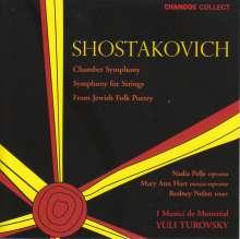 Dmitri Schostakowitsch (1906-1975): Kammersymphonie op.110a, CD