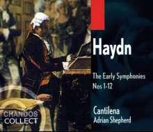 Joseph Haydn (1732-1809): Symphonien Nr.1-12, 3 CDs
