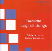 Felicity Lott - Favourite English Songs, CD