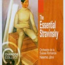 Igor Strawinsky (1882-1971): Neeme Järvi dirigiert Strawinsky, 5 CDs