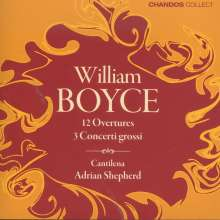 William Boyce (1711-1779): Ouvertüren Nr.1-12, 2 CDs