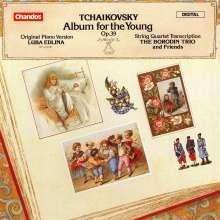 """Peter Iljitsch Tschaikowsky (1840-1893): 24 Stücke op.39 """"Kinderalbum"""", CD"""