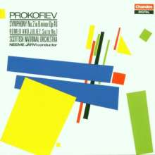 Serge Prokofieff (1891-1953): Symphonie Nr.2, CD
