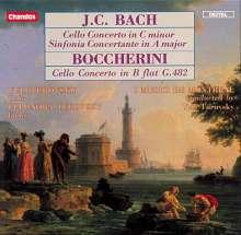 Johann Christian Bach (1735-1782): Cellokonzert c-moll, CD