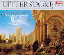 """Karl Ditters von Dittersdorf (1739-1799): 6 Symphonien nach Ovids """"Metamorphosen"""", 2 CDs"""