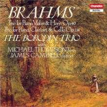 Johannes Brahms (1833-1897): Horntrio op.40, CD