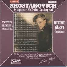 "Dmitri Schostakowitsch (1906-1975): Symphonie Nr.7 ""Leningrad"", CD"