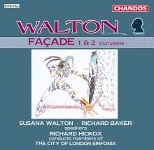 William Walton (1902-1983): Facade, CD