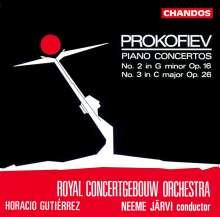 Serge Prokofieff (1891-1953): Klavierkonzerte Nr.2 & 3, CD
