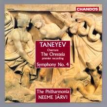 Serge Tanejew (1856-1915): Symphonie Nr.4 op.12, CD