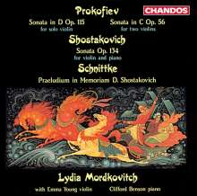 Serge Prokofieff (1891-1953): Sonate für 2 Violinen op.56, CD