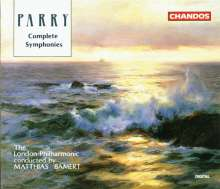 Hubert Parry (1848-1918): Symphonien Nr.1-5, 3 CDs