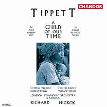 Michael Tippett (1905-1998): A Child of our Time, CD