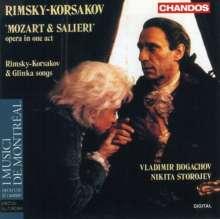 Nikolai Rimsky-Korssakoff (1844-1908): Mozart & Salieri, CD