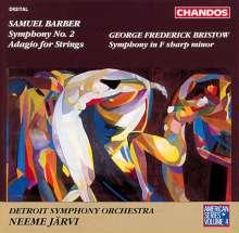 "Samuel Barber (1910-1981): Symphonie Nr.2 ""Airborn"", CD"